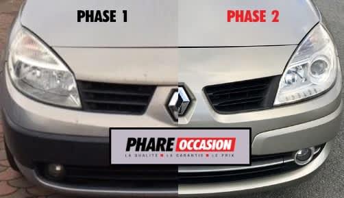 Scénic 2: comment faire la différence entre la phase 1 et la phase 2 ?