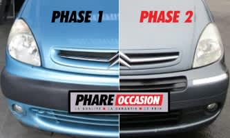 Comment bien reconnaître la phase de ma Citroën Xsara Picasso ? Phase 1 ou Phase 2 ?