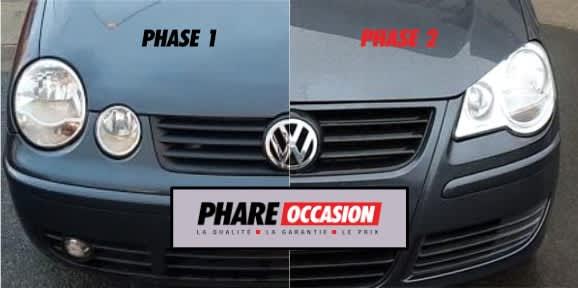 Différences entre Phase 1 et phase 2 de la Volkswagen Polo IV (9N)