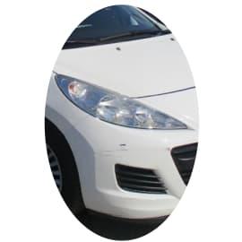 Phare avant droit Peugeot 207 phase 2 directionnel