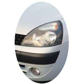 Phare avant gauche Renault Clio 2 phase 2 noir