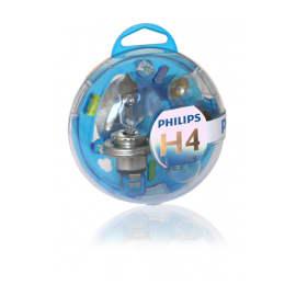 Coffret ampoules neuves H4