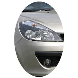 Phare avant droit Renault Clio 3 phase 1 directionnel noir