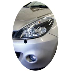 Phare avant gauche Renault Clio 3 phase 1 Xenon directionnel noir