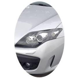 Phare avant gauche Renault Laguna 3 phase 1 noir