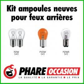 Kit ampoules neuves feu arrière