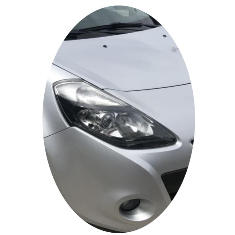 Phare avant droit Renault Clio 3 phase 2 directionnel noir