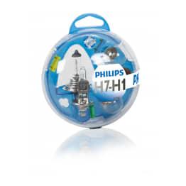 Coffret ampoules neuves H7 - H1