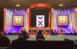 Damlandslaget i cheerleading VM 2017