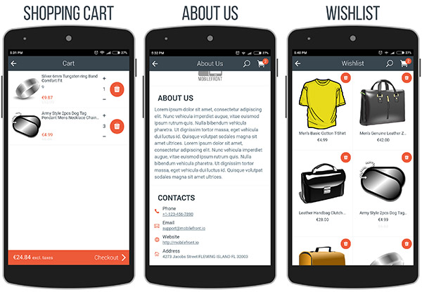 MobileFront Shopify Mobile App - 10