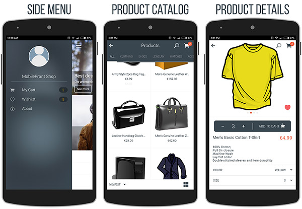 MobileFront Shopify Mobile App - 9