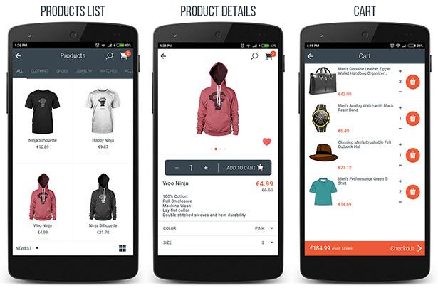 WooCommerce Ionic Mobile App & REST API