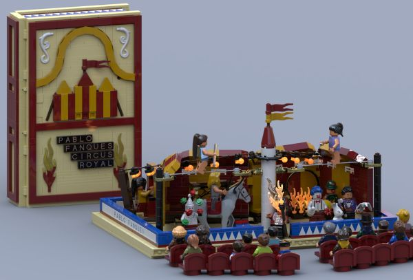 Pablo Fanque's Circus Royal - Pop-up book! - by NLR Creations