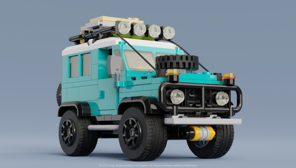 Land Rover Defender 90 - by @undefined