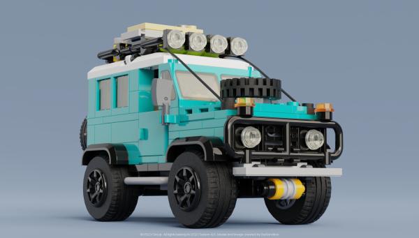 Land Rover Defender 90 - by Tong Xin Jun