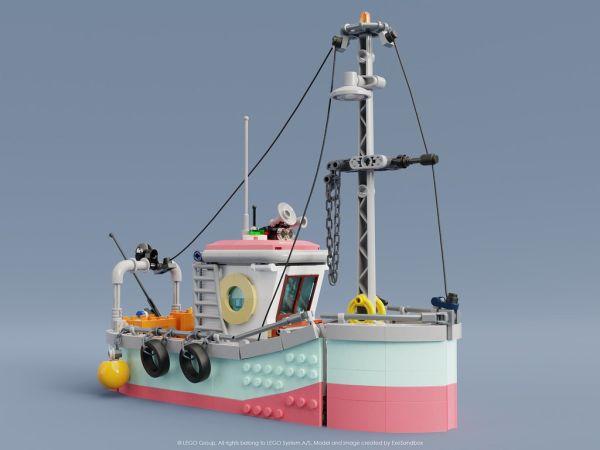 Fishing Boat - by Tong Xin Jun