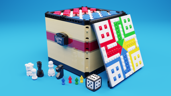 The Game Box - Lego IDEAS - by @undefined