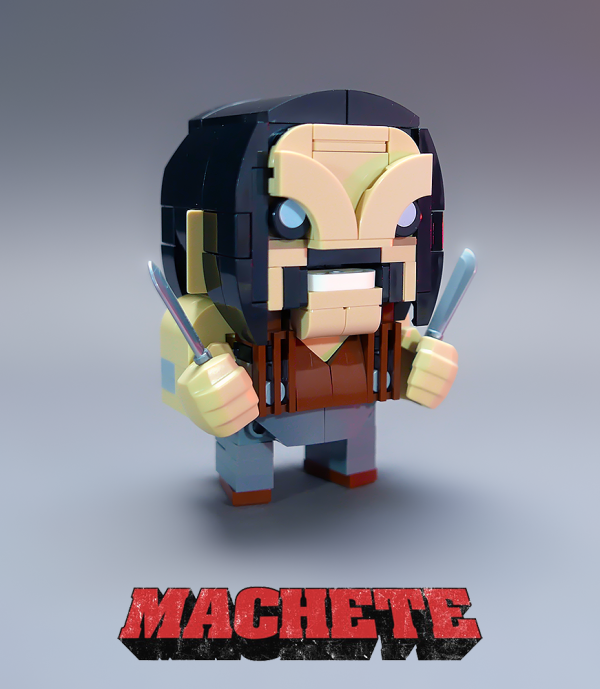 Machete Brickheadz - by @undefined