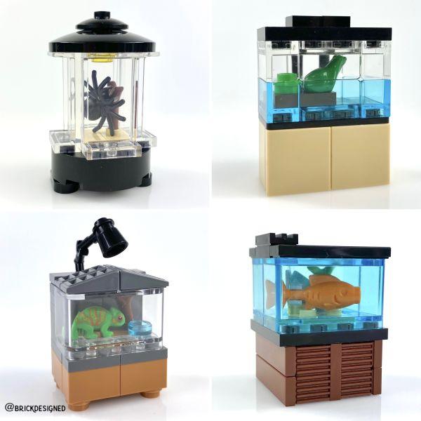Terrariums & Aquariums - by @undefined