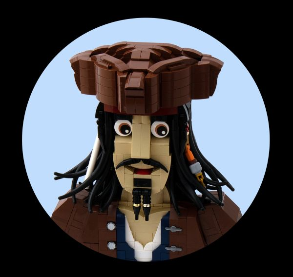 Jack Sparrow Bust - by @undefined
