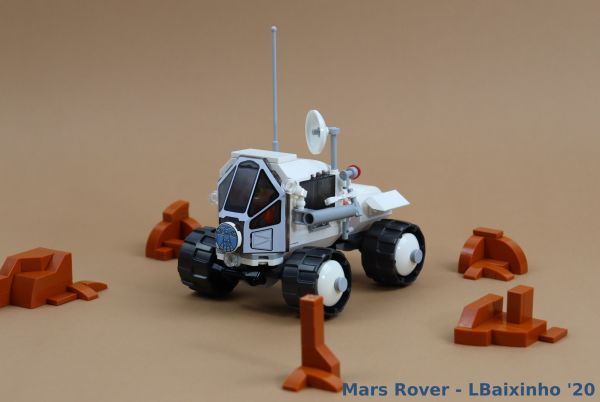 Mars Rover - by @undefined