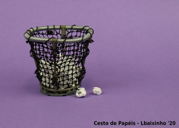 Wastepaper Basket - by LBaixinho