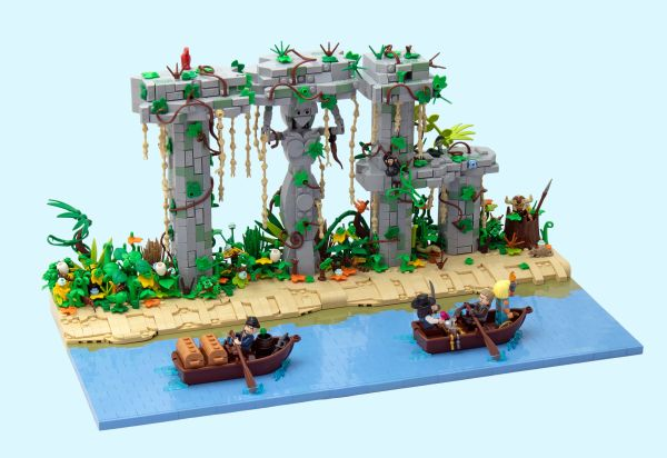 Jungle Ruins - by Letranger Absurde