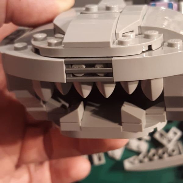 Updated Thundertank MOC WIP - by Don Wilson