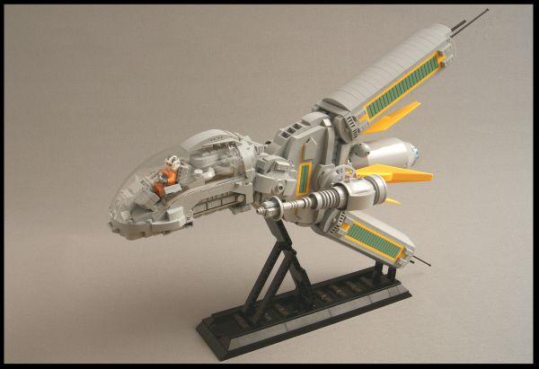 Y-18R Ragnarok Starfighter - by @undefined