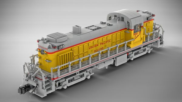 Union Pacific Alco RS-2 - by MasterBuilderKTC