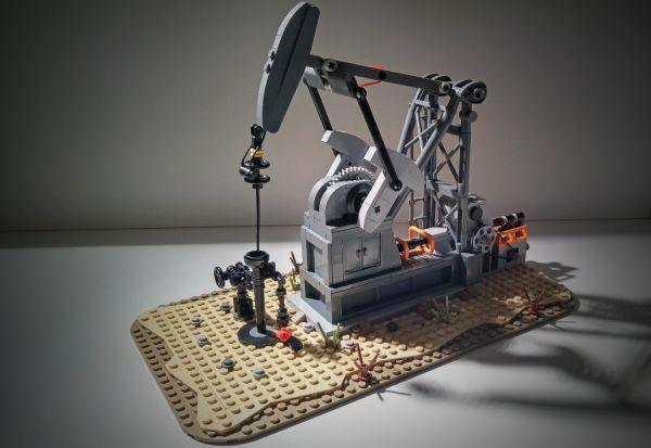 Functionong Oil Pump Jack - by MasterBuilderKTC