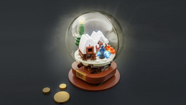 Snow globe - by Nicolas Carlier