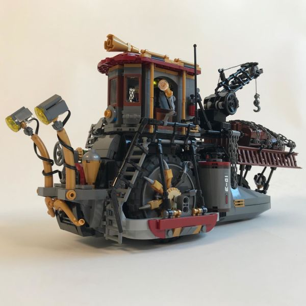 RC Steam punk snail - by Nathan Hake