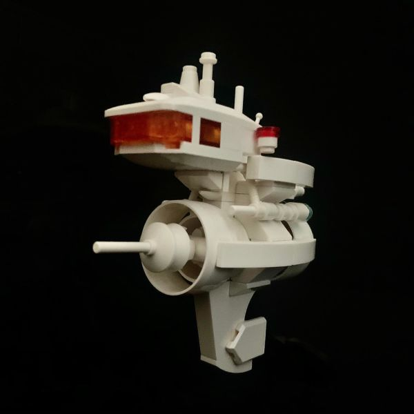 Micro Space ship - by @undefined