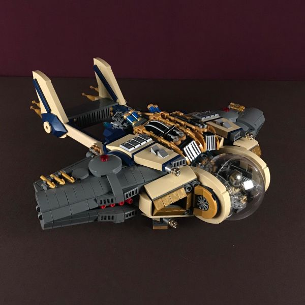 Space ship - by Nathan Hake