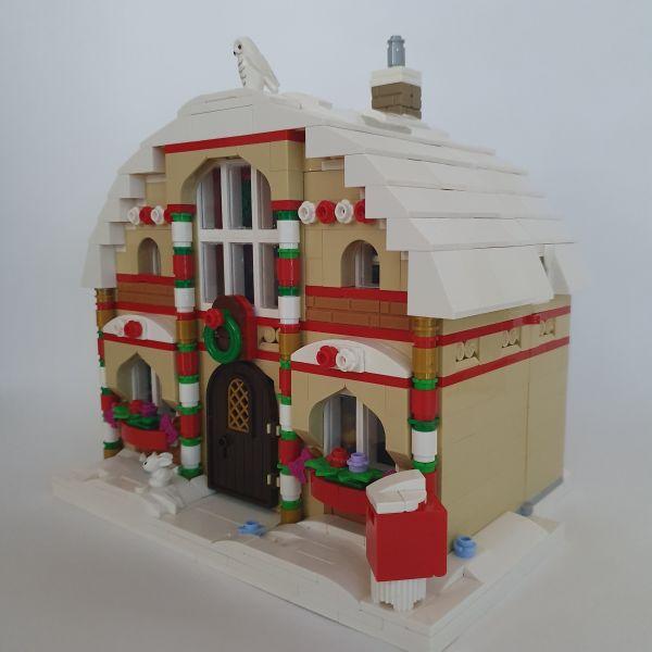 Christmas House - by legomfr