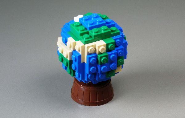 Globe - by Amida Na