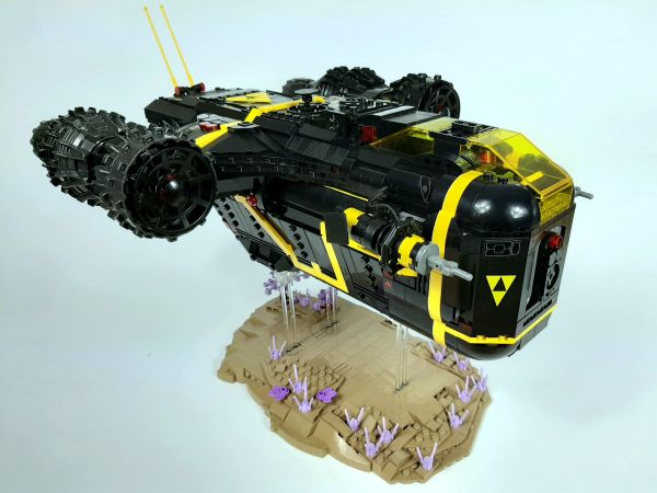 Blacktron Laser Thrust - by Gino