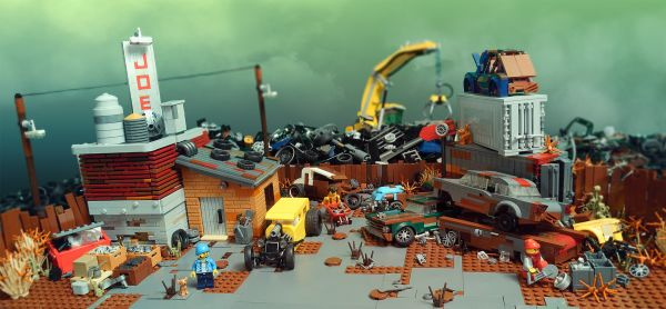 Joe's scrapyard - by Faber Mandragore