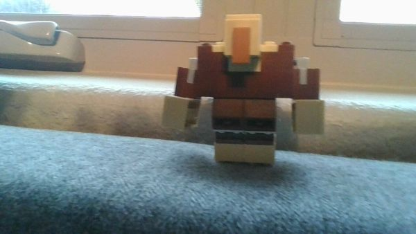 LEGO MINECRAFT Mutant villager MOC - by @undefined
