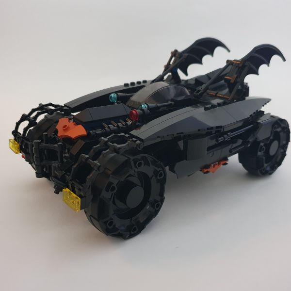 Batmobile - by legomfr