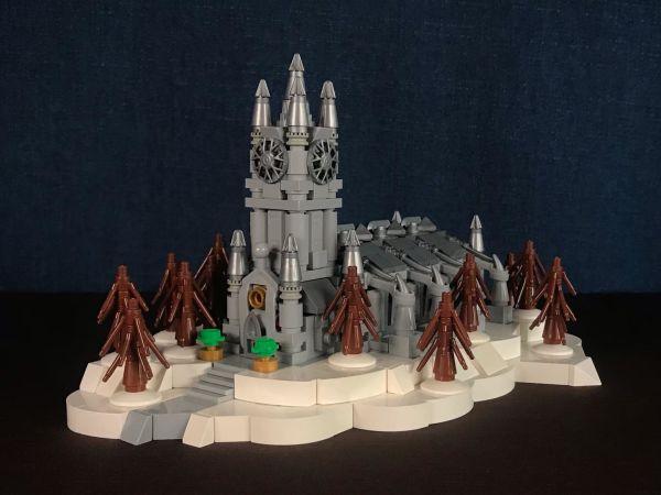 Micro Lego Church - by Nathan Hake