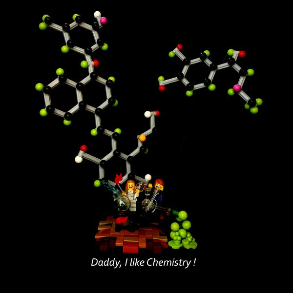 Daddy, I like Chemistry! - by Teazza