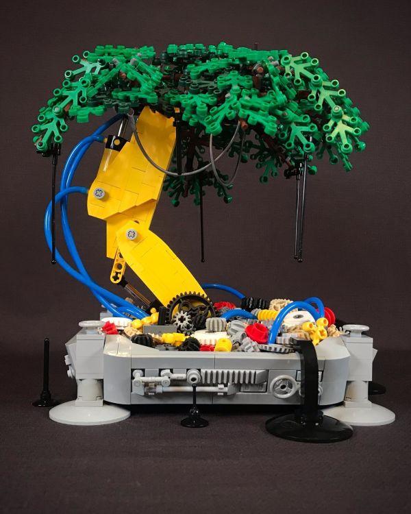 Mechanical Bonsai Tree - by Nathan Hake