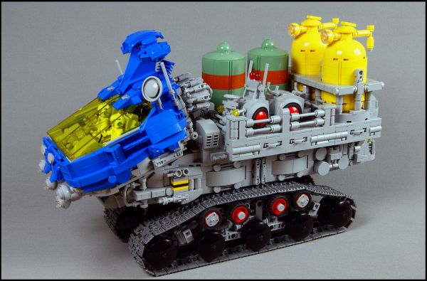 7421: T-ATV (Tracked All-Terrain Vehicle) - by @swestar