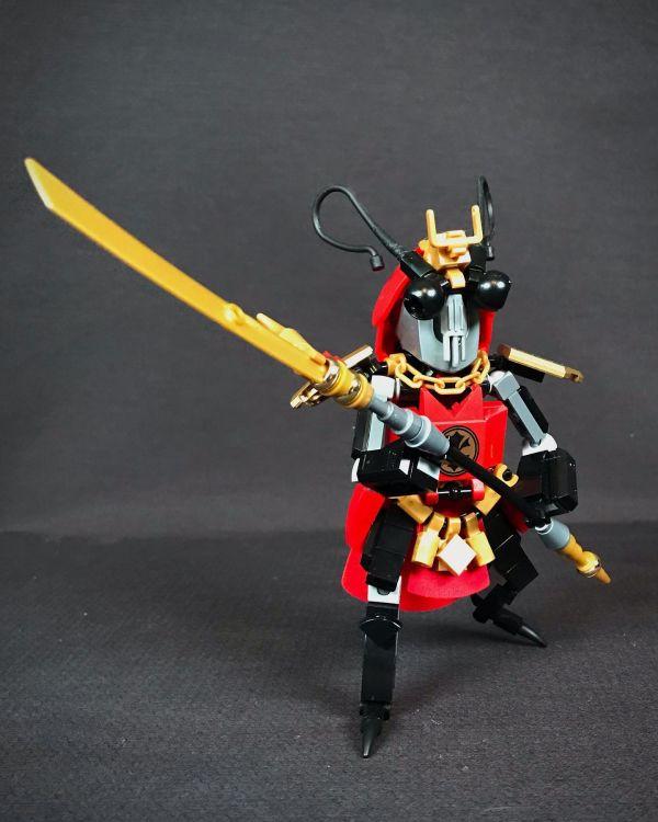 Samurai Cockroach - by Nathan Hake