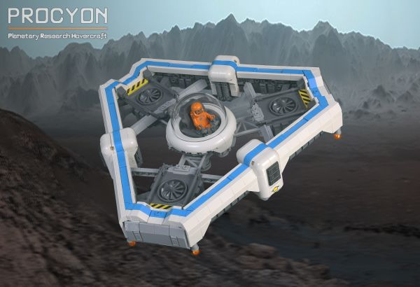 Procyon Planetary Research Hovercraft - by Blake Foster