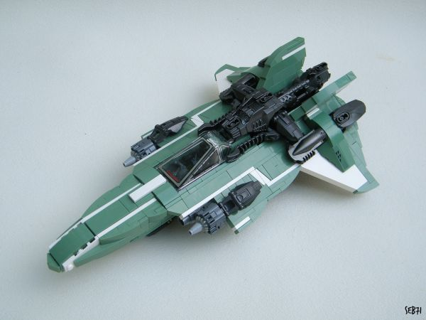 Starfighter Intrepid - by @seb71