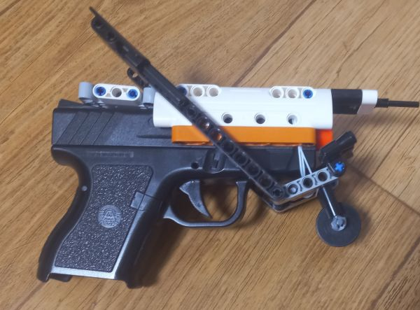 cool pistol guard  - by @undefined