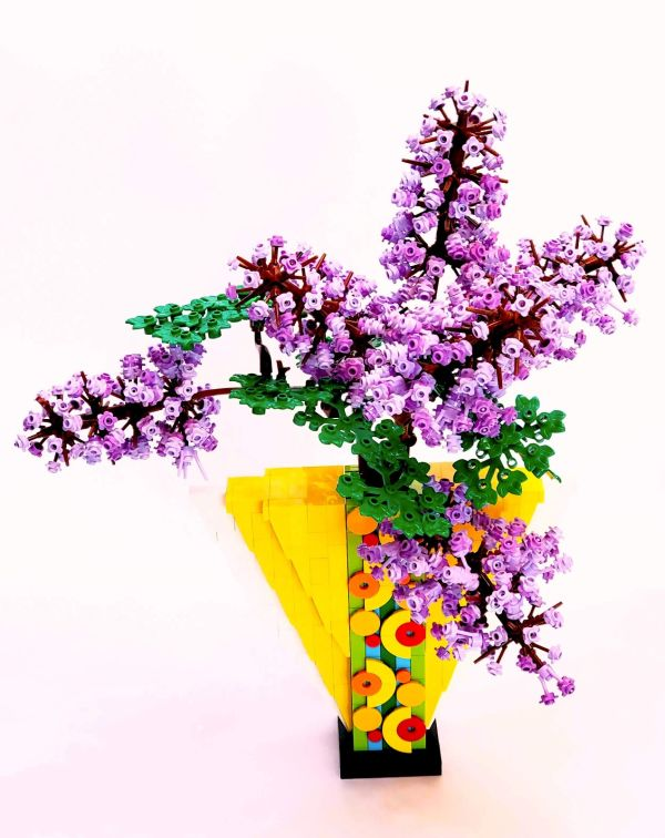Lilacs in Vase - by @undefined